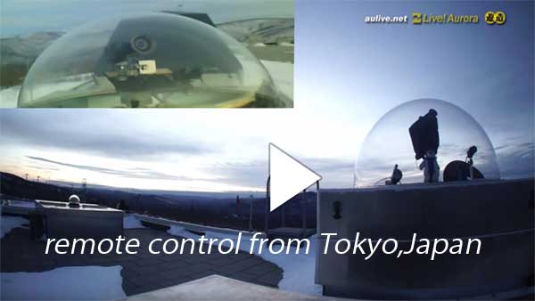 Remote control from Tokyo, Japan  (Super real video Live : Youtube)